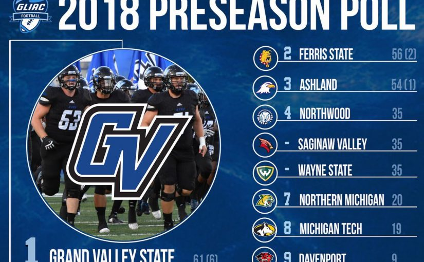 Wildcats, Huskies voted near bottom of GLIAC football coaches poll