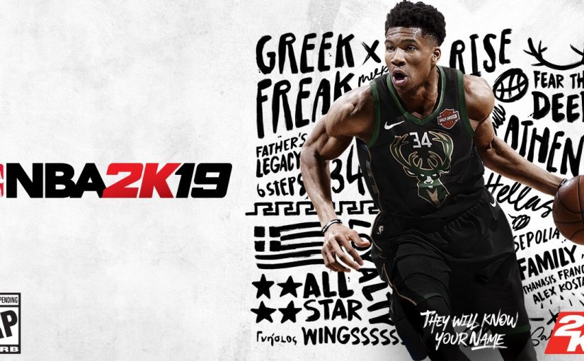 Greek Freak to be on cover of 'NBA 2K19'