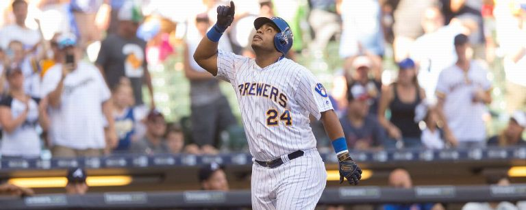 Milwaukee's Aguilar wins NL All-Star Final Vote