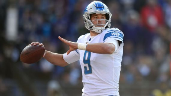 Matthew Stafford knows what 'talented' Sam Darnold faces