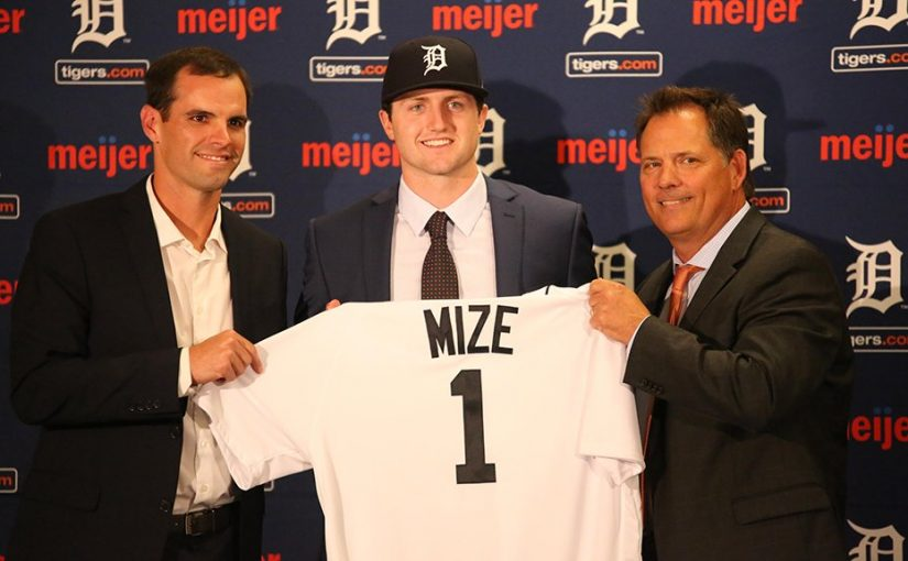 Tigers sign top pick Mize, 3rd rounder Clemens