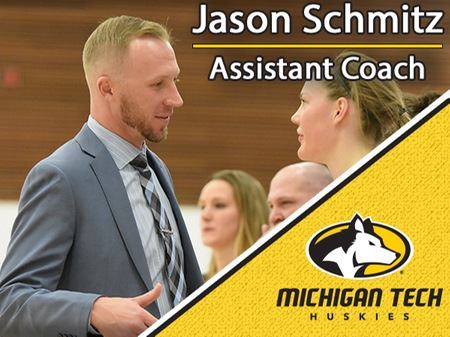 Schmitz joins Michigan Tech women's basketball coaching staff