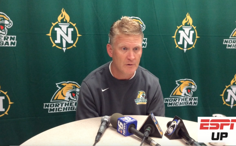 WATCH: NMU football preseason press conference