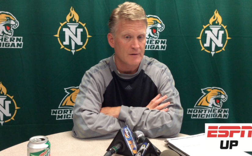 NMU football coach Kyle Nystrom press conference August 28